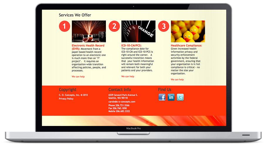 Web Design Consulting Seattle