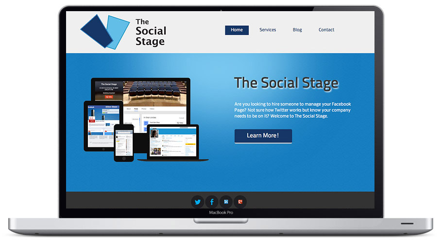 seattle web design - the social stage