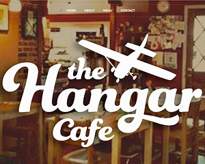 Hang Wire Web Design Seattle Launches The Hangar Cafe Website