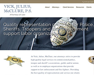 Hang Wire Web Design Seattle launches Vick, Julius, McClure, P.S.